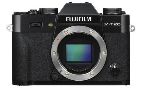 Fujifilm X-T20 Camera Body Only - Black