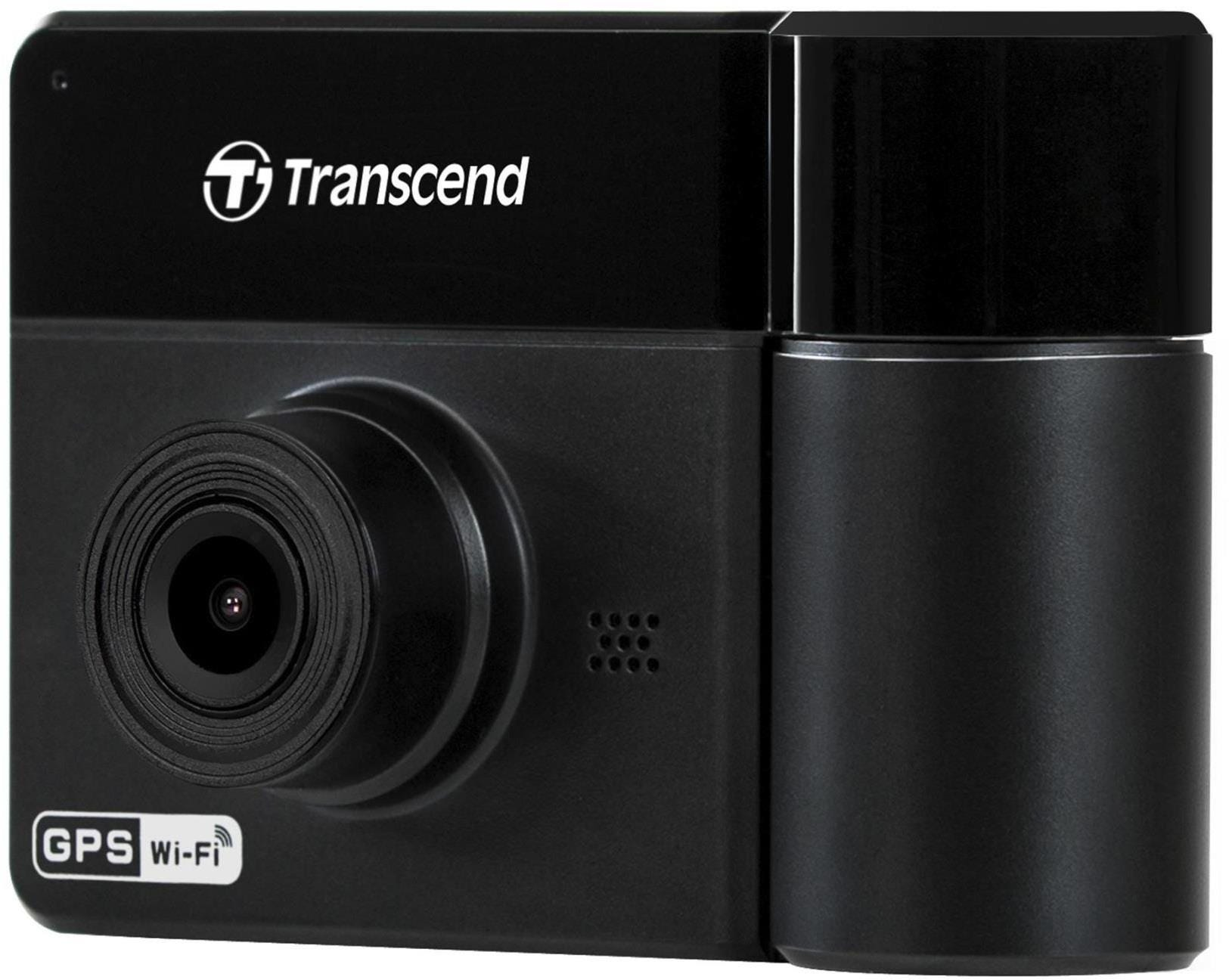 Transcend DrivePro 550 Full HD Dual Lens Dash Cam with Free MicroSD Memory Card