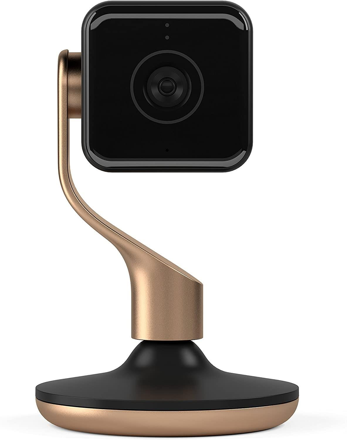 Hive View Indoor Wireless Full HD Night-Vision Security Camera - Black    Brushed Copper