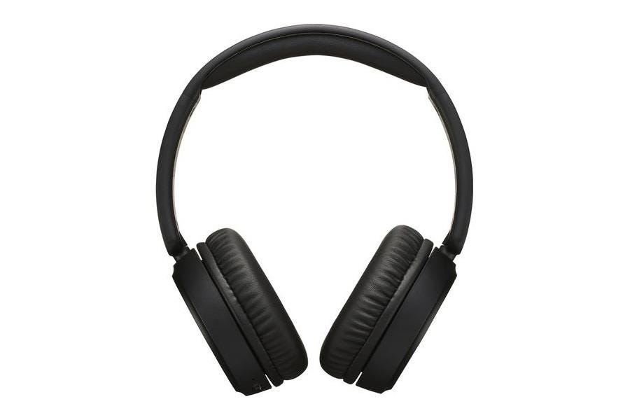 JVC HA-S65BN Superior Sound Wireless Bluetooth Noise-Cancelling Over-Ear Headphones - Black