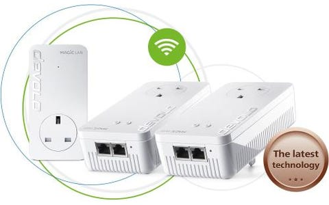 Devolo Magic 1 AC1200 Whole Home WiFi System - Triple Pack