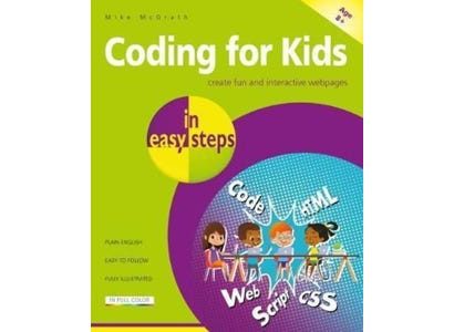 In Easy Steps Books - Coding For Kids In Easy Steps