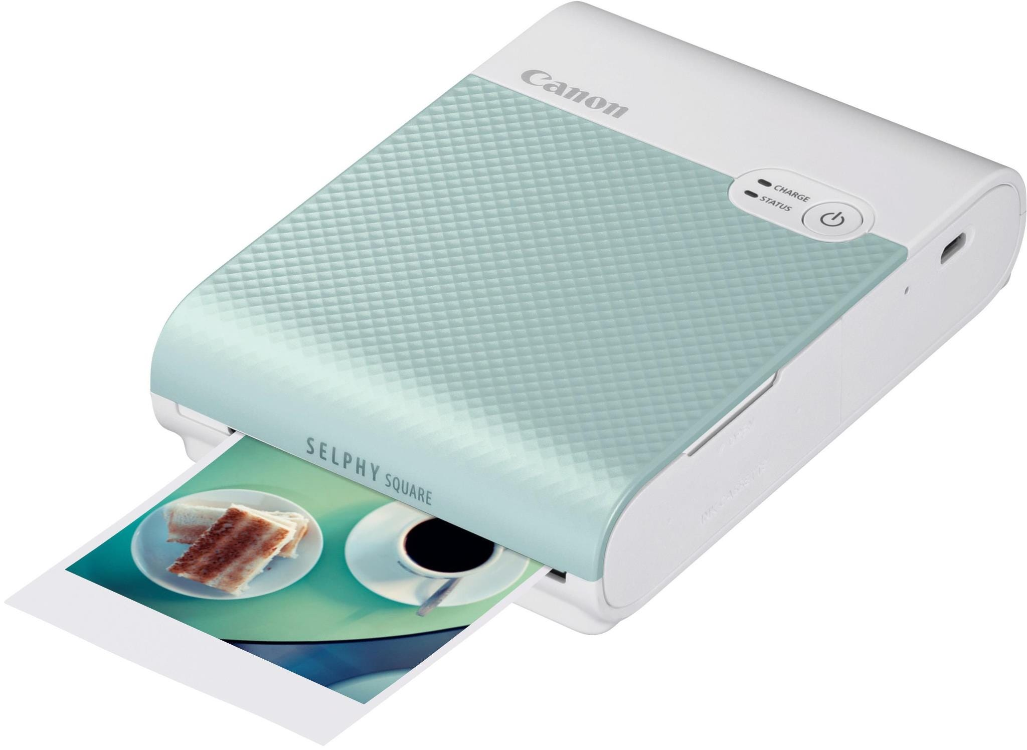 Canon Selphy Square QX10 Instant Photo Printer - Green