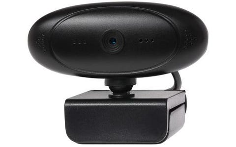 JLC 360 Degree Rotating Auto Focus HD Webcam with Built in Microphone
