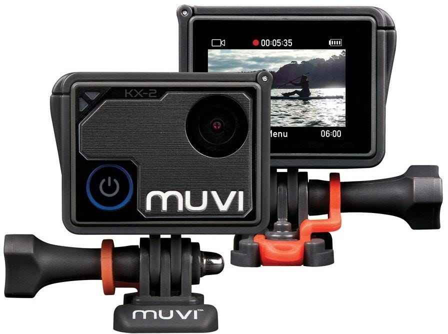 Veho Muvi KX-2 NPNG Handsfree 4K at 30fps 12MP Photo Action Camera with Waterproof Housing