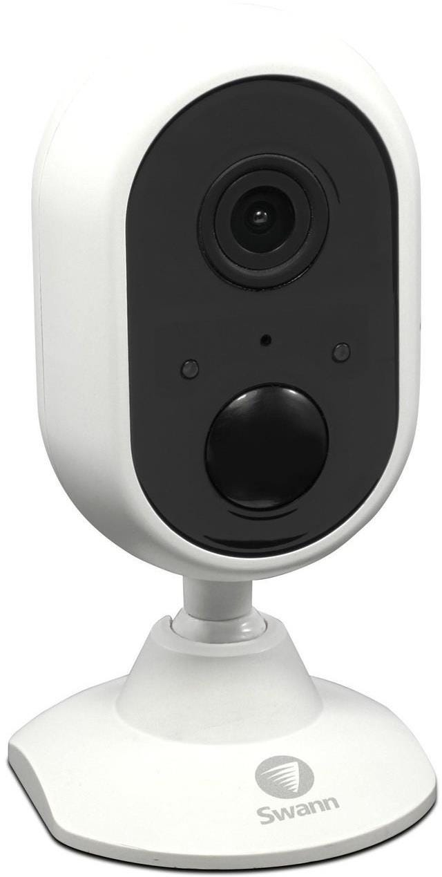 Swann 1080p Indoor Wi-Fi Security Camera - White