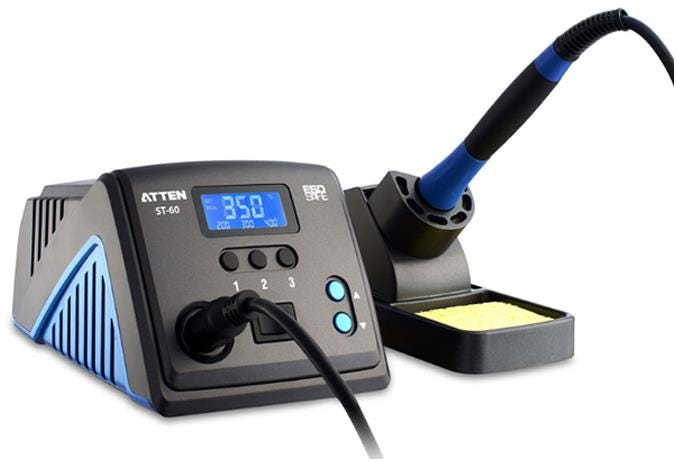 ATTEN ST-60 Soldering Iron Station with Stand 60W