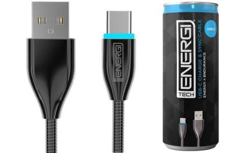 Tech Energi USB-C Charge & Sync Cable (1.2m)