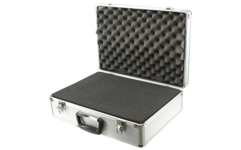 ROC Cases Aluminium Flight Case with Foam Block & Egg Foam Lid