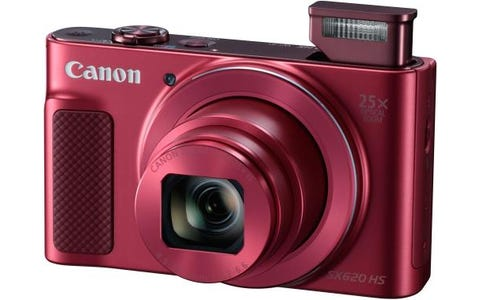 Canon PowerShot SX620 HS 21.1MP 25x Zoom Compact Camera - Red