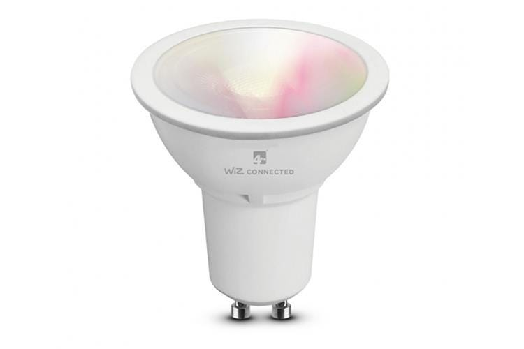 4lite WiZ Connect Colour and Tuneable White LED Smart Bulb WiFi - GU10 Fit