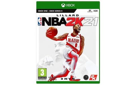 Microsoft Xbox One NBA 2K21 Game