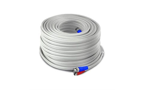 Swann SWPRO-60MTVF-GL  HD Video and Power BNC Extension Cable (60m)