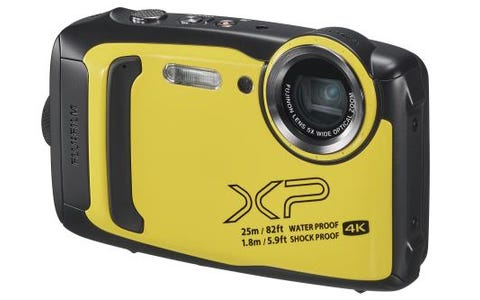 Fujifilm FinePix XP140 Tough Digital Camera - Yellow