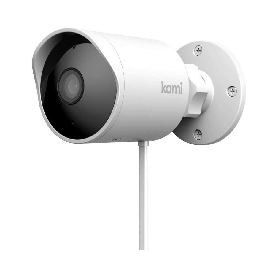 Kami H31 Outdoor Wireless Full HD Night-Vision Security Camera - White