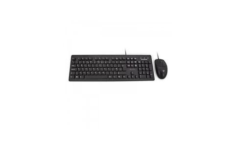 V7 CKU700 IP68 Washable Antimicrobial Keyboard and Mouse Combo - Black