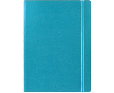 Filofax A4 Refillable Notebook Classic Ruled - Aqua