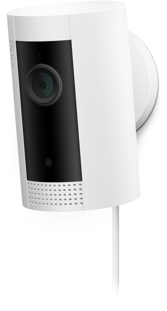Ring Indoor Wireless HD Night-Vision Security Camera - White