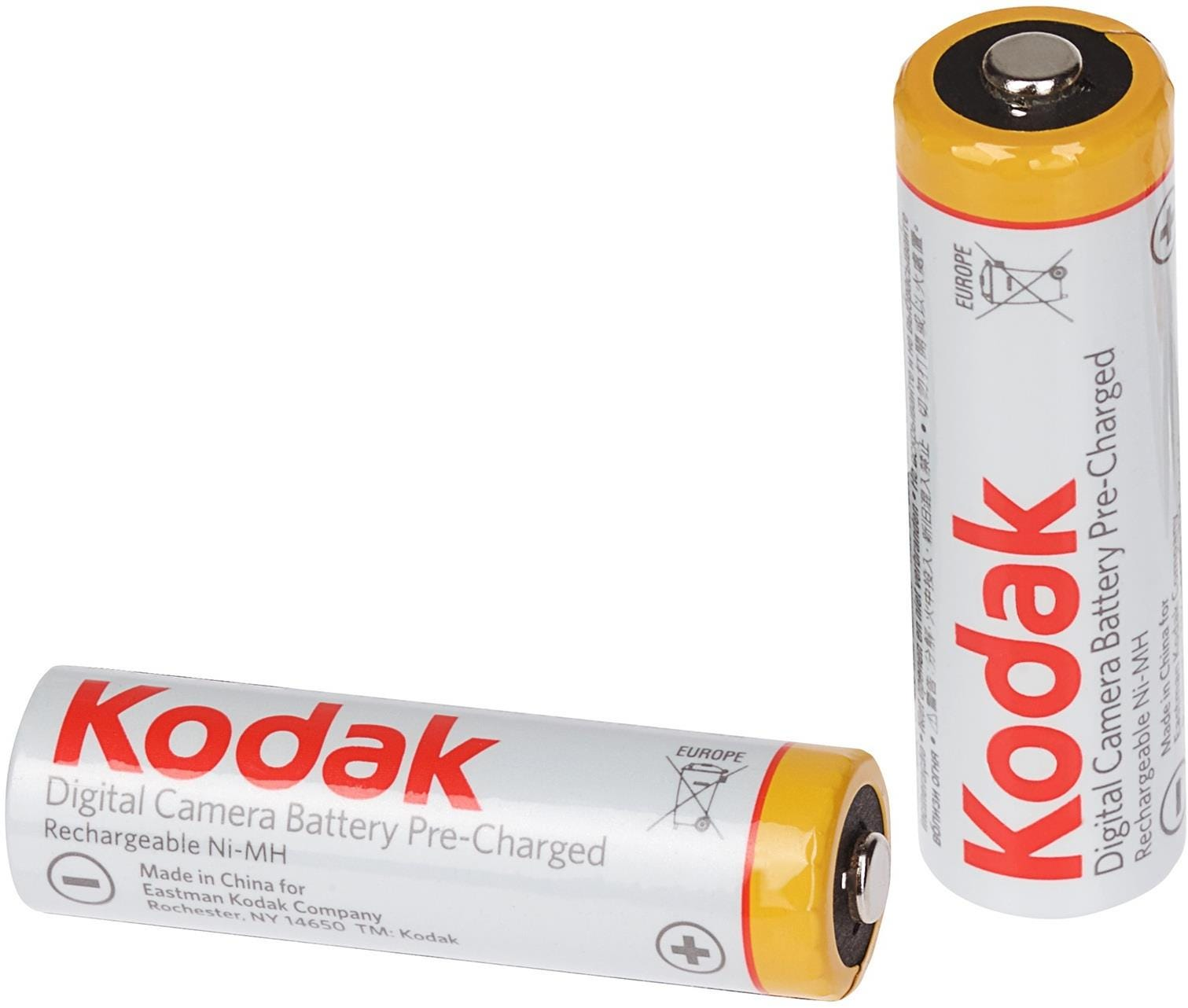 Kodak Rechargeable Ni-MH AA Batteries - Pack of 2