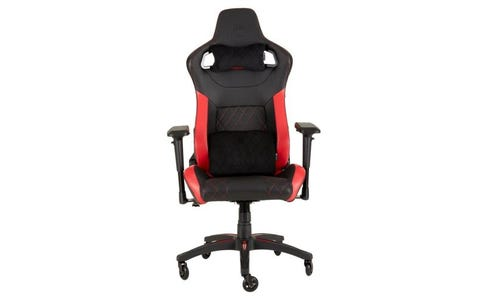 Corsair T1 Race 2018 Gaming Chair - Black/Red