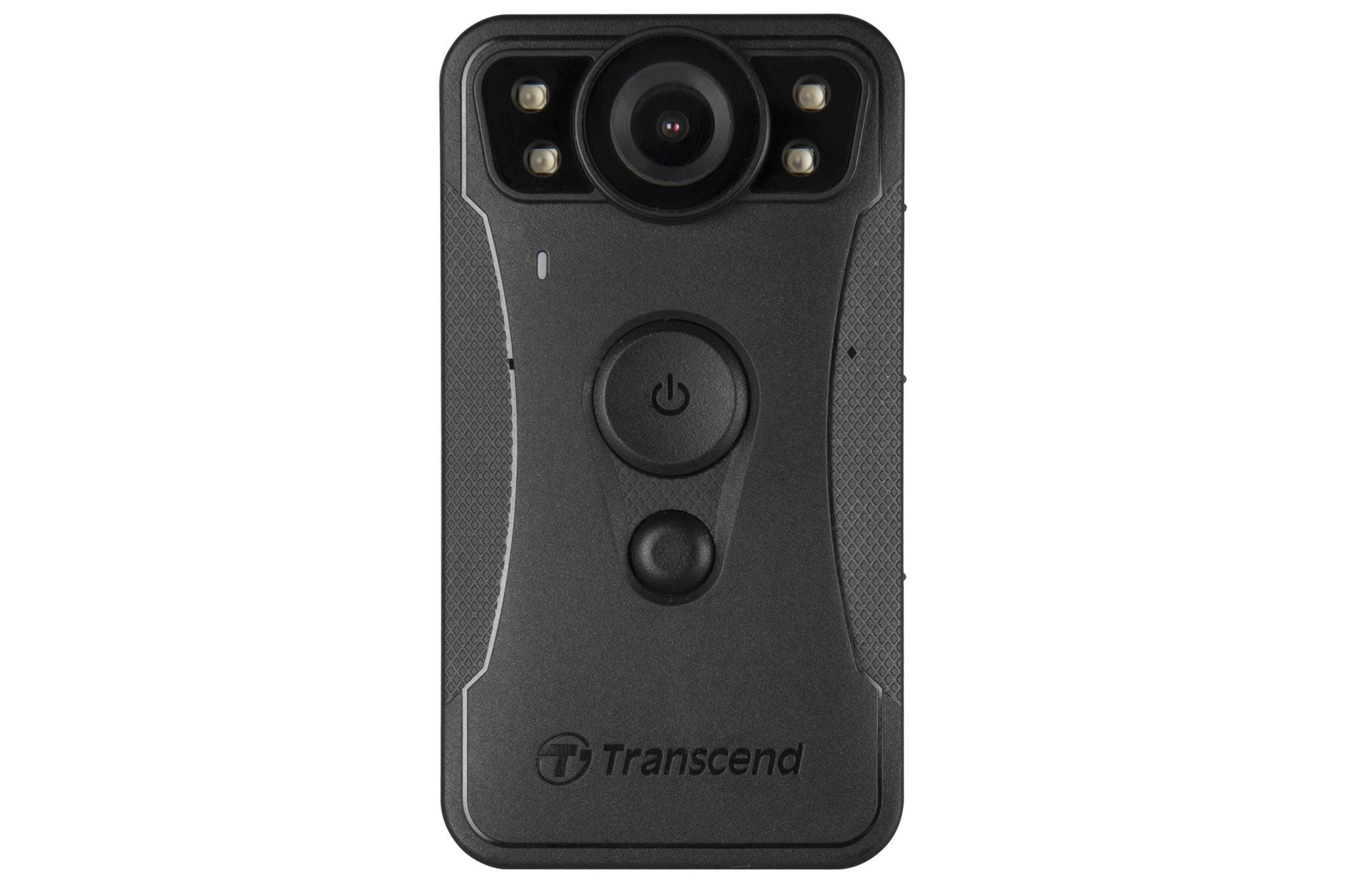 Transcend DrivePro 30 Body Camera - 64GB, Black