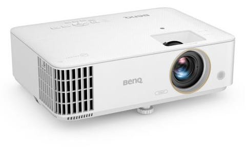 BenQ TH685 Ultra-Low Input Lag HDR Console Gaming Projector with 3500 ANSI Lumens - White