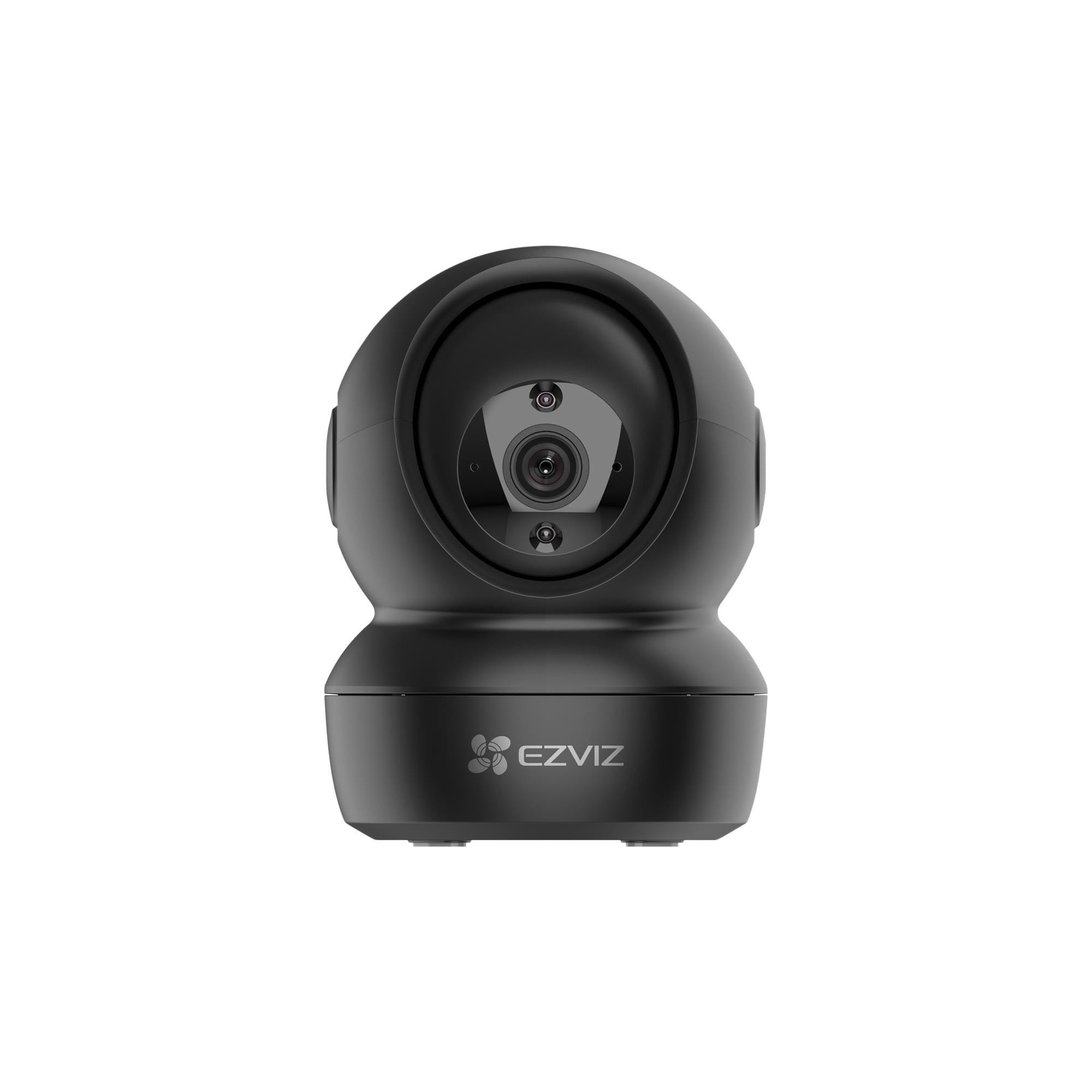 EZVIZ C6N Motion Tracking Pan/Tilt Indoor Wireless Full HD Night-Vision Security Camera - Black