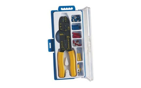 Eagle Crimping Set with 32 Assorted Crimp Terminals