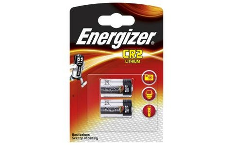 Energizer CR2 Lithium Batteries - 2 Pack