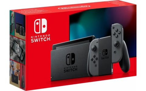 Nintendo Switch with Joy-Con Controllers - Grey