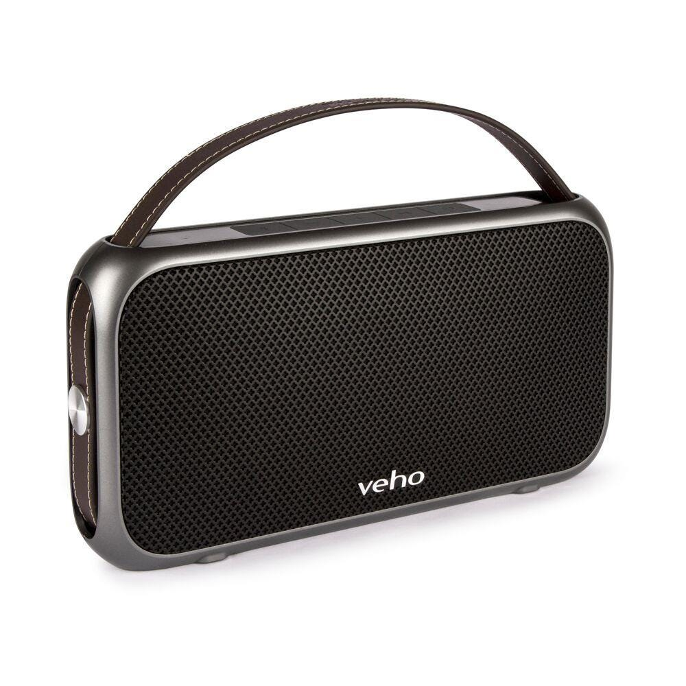 Veho M7 Water-Resistant Portable Wireless Bluetooth Speaker - Black