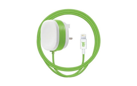 Juice Mains UK to Lightning 2.4A Charger (1m)