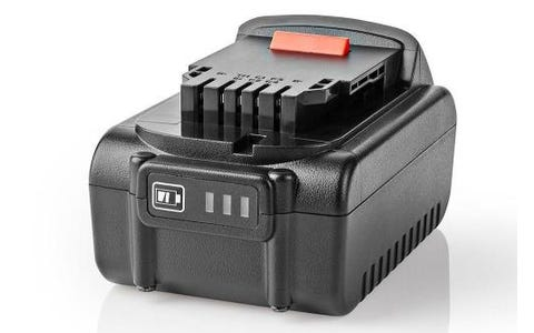 Nedis 4000maH 18V/20V Lithium Ion Replacement Power Tool Battery for Dewalt