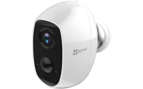 EZVIZ C3A Indoor / Outdoor Wire-Free Full HD Night-Vision Security Camera - White