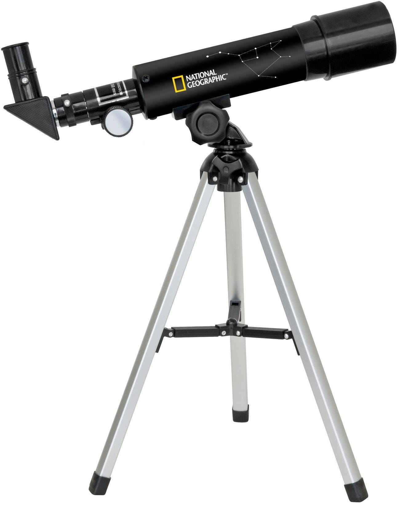 National Geographic 50/360 Refractor Telescope - Black