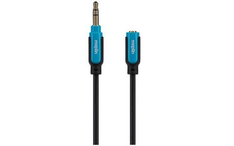 Maplin Premium 3.5mm Stereo 3 Pole Jack Audio Extension Cable - 3m