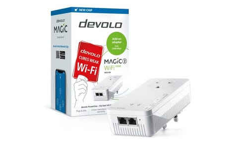 Devolo Magic 2 NEXT AC2400 Dual-Band Add-On Powerline Adapter - White