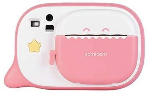 Creacam Instant Camera with 3 Packs of Paper - Pink
