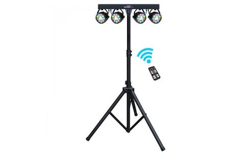 Kam LED Party Bar Inc. 4 Lights & Stand