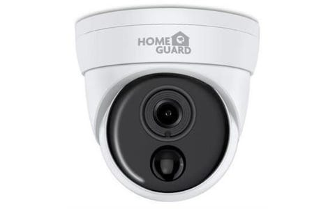 HomeGuard HGPRO-839 Heat-Sensing PIR Indoor / Outdoor Wired Full HD Night-Vision Security Camera - White