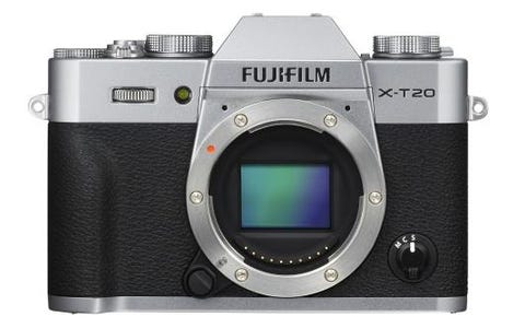 Fujifilm X-T20 Camera Body Only - Silver