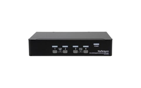 Startech SV431DPUA 4-Port USB DisplayPort KVM Switch with Audio