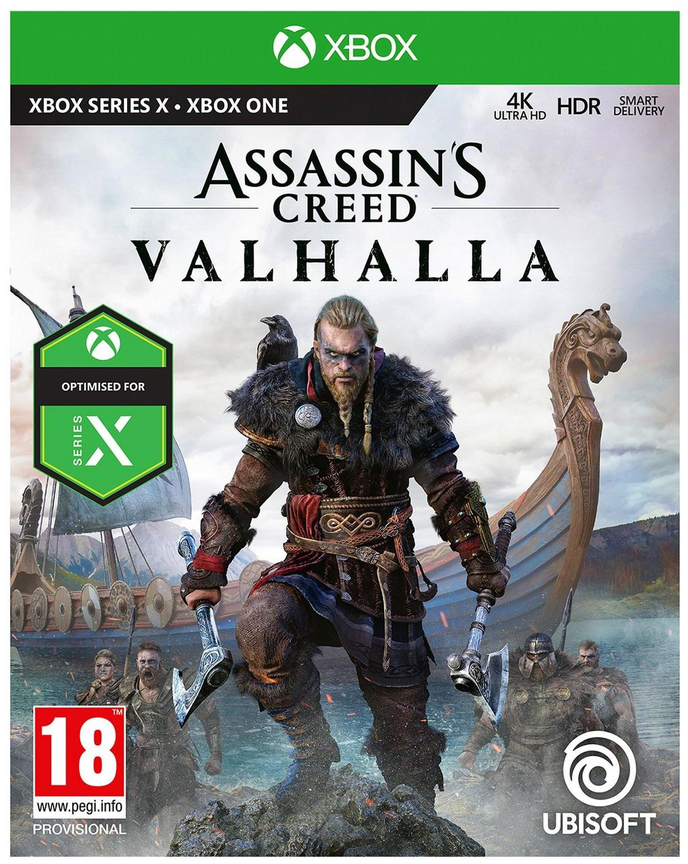 Microsoft Xbox One Assassins Creed Valhalla Game