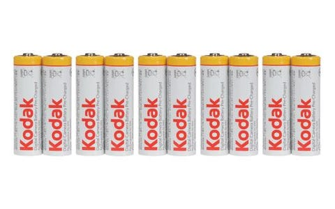 Kodak Easy Packaging Ni-MH 10x AA 1.2V Rechargeable Batteries