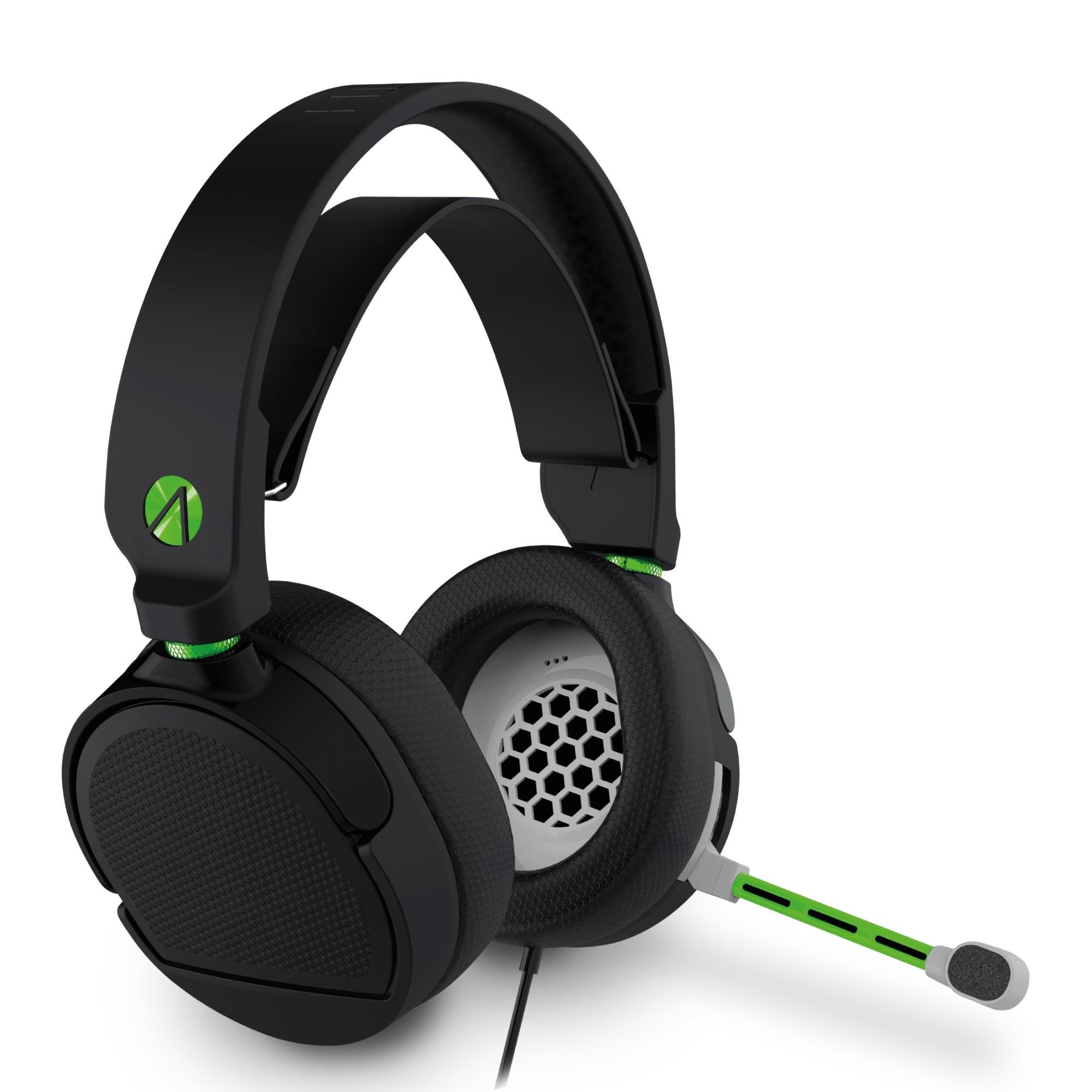Stealth Shadow X Premium Stereo Gaming Headset - Black and Green