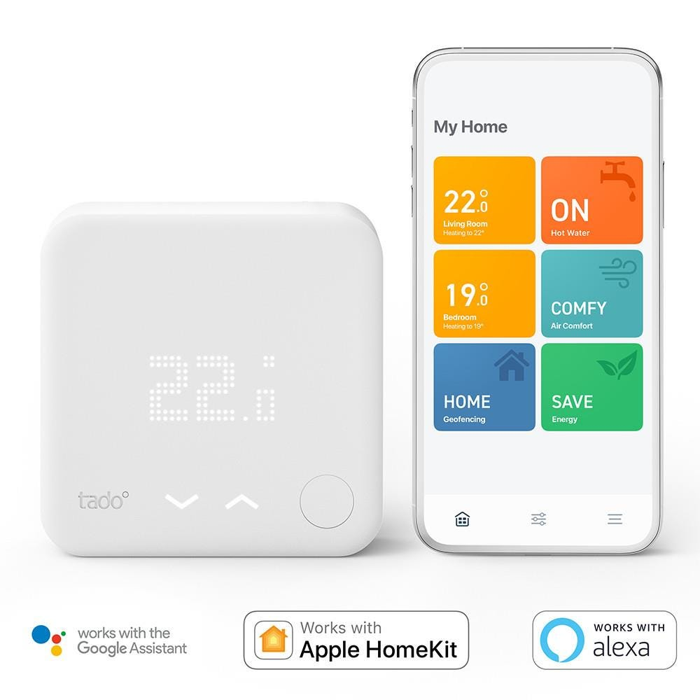 Tado° Smart Thermostat with Hot Water Control Starter Kit V3+