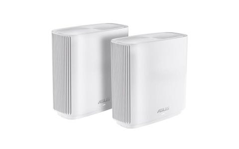 ASUS ZenWiFi CT8 Whole Home WiFi System - Twin Pack, White