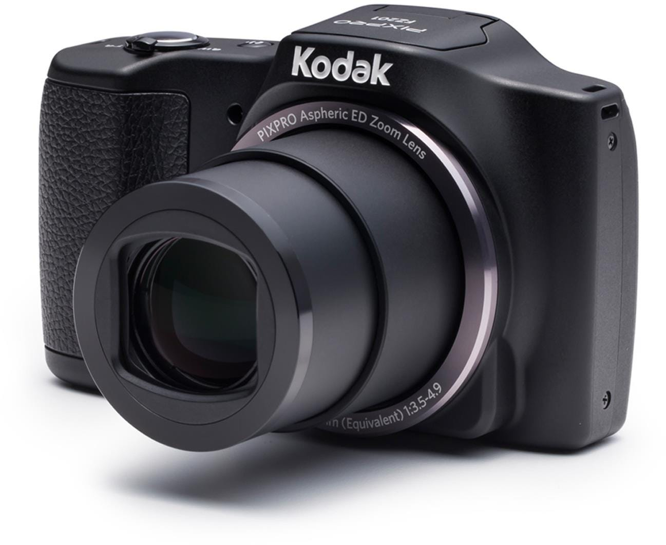 Kodak PIXPRO FZ201 16MP 20x Zoom Bridge Camera - Black