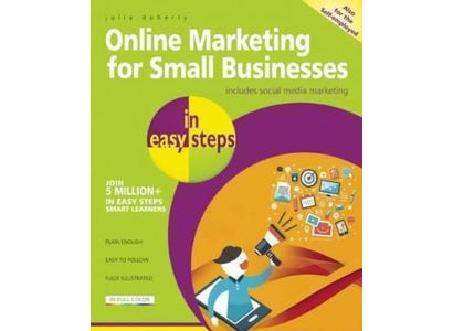 In Easy Steps Books - Online Marketing For Small Businesses In Easy Steps