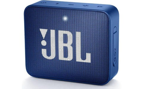JBL Go 2 Waterproof Portable Wireless Bluetooth Speaker - Blue